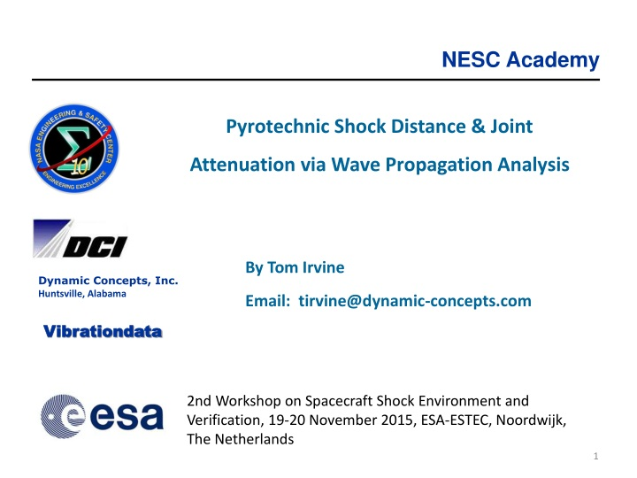 pyrotechnic shock distance joint attenuation n.