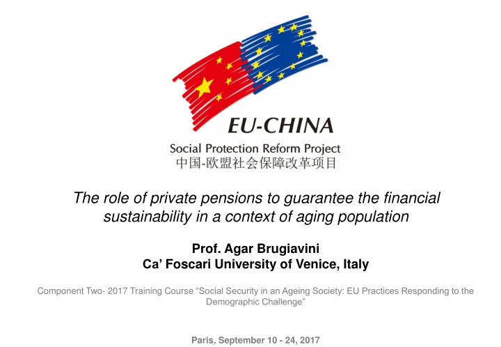 the role of private pensions to guarantee n.