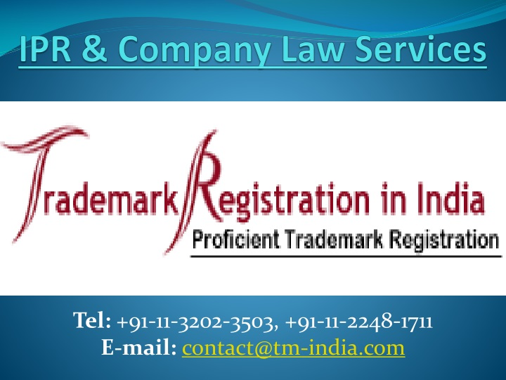 ipr company law services n.