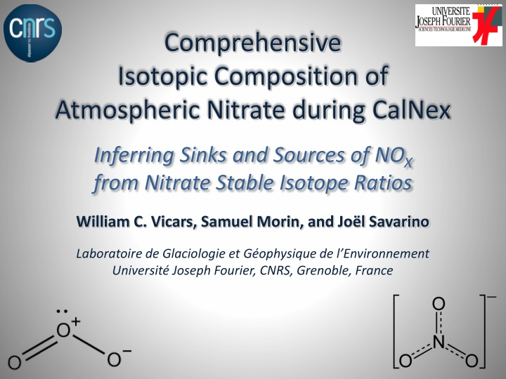 comprehensive isotopic composition of atmospheric nitrate during calnex n.