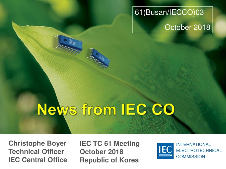 news from iec co n.