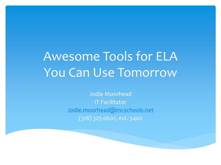 awesome tools for ela you can use tomorrow n.