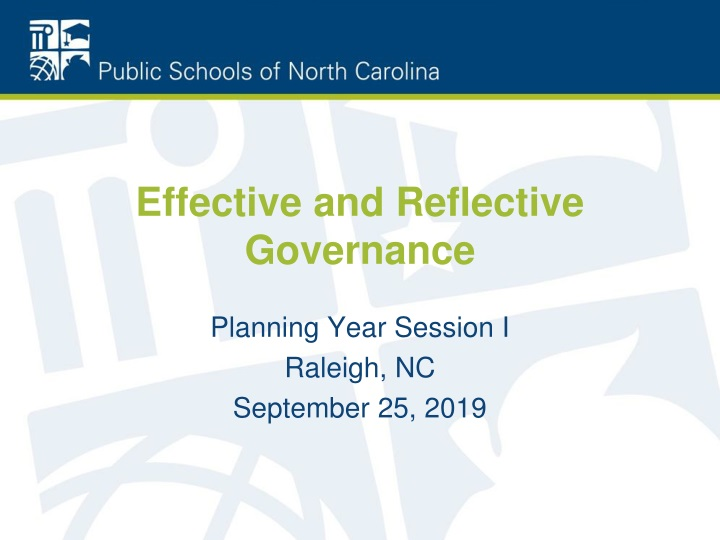 effective and reflective governance n.