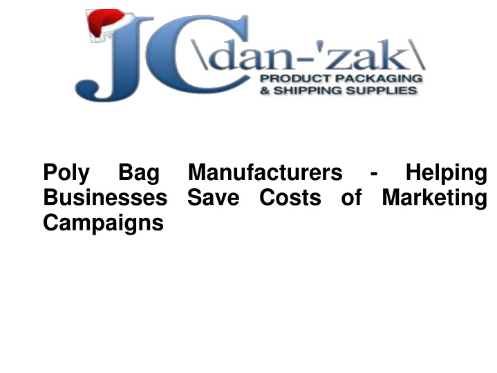 poly bag manufacturers helping businesses save n.