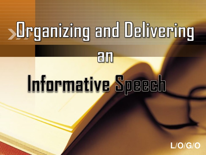 organizing and delivering an n.