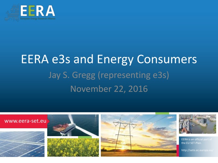eera e 3s and energy consumers n.