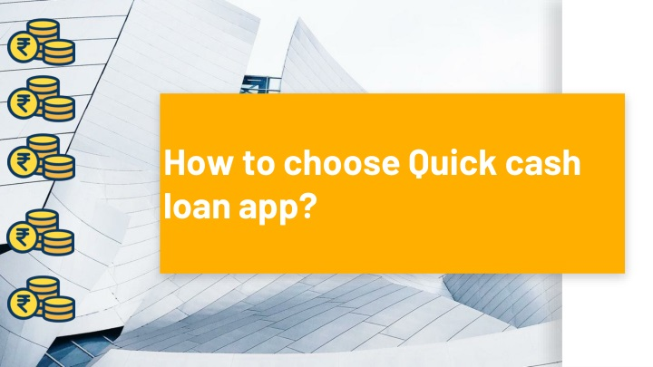 how to choose quick cash loan app n.