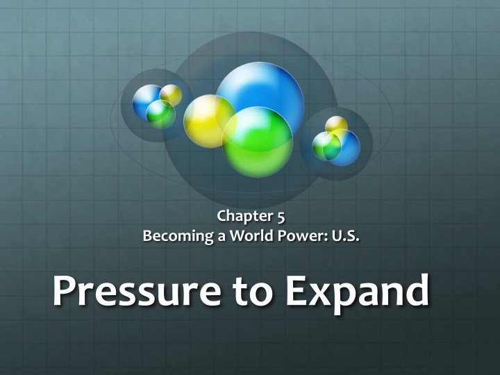 pressure to expand n.
