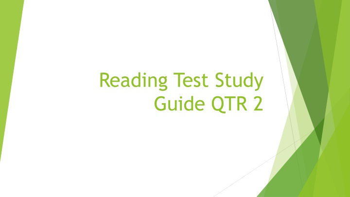 reading test study guide qtr 2 n.