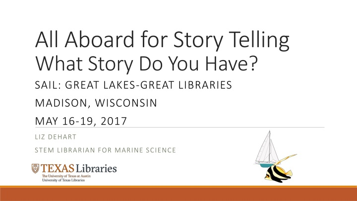 all aboard for story telling what story do you have n.