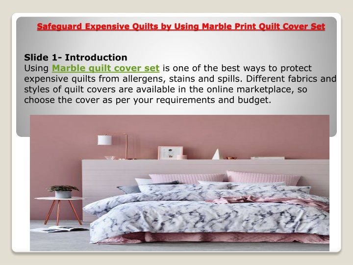 safeguard expensive quilts by using marble print quilt cover set n.