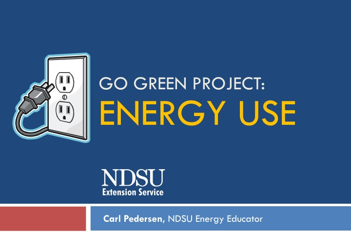 go green project energy use n.