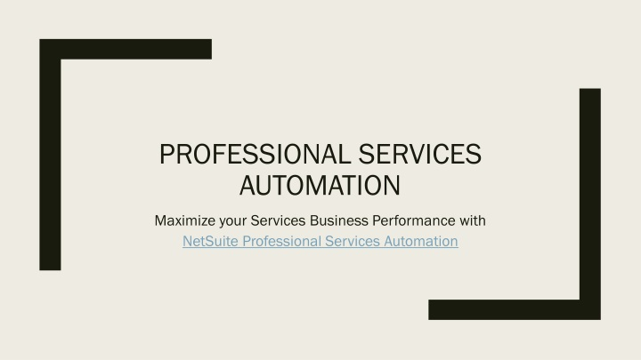 professional services automation n.