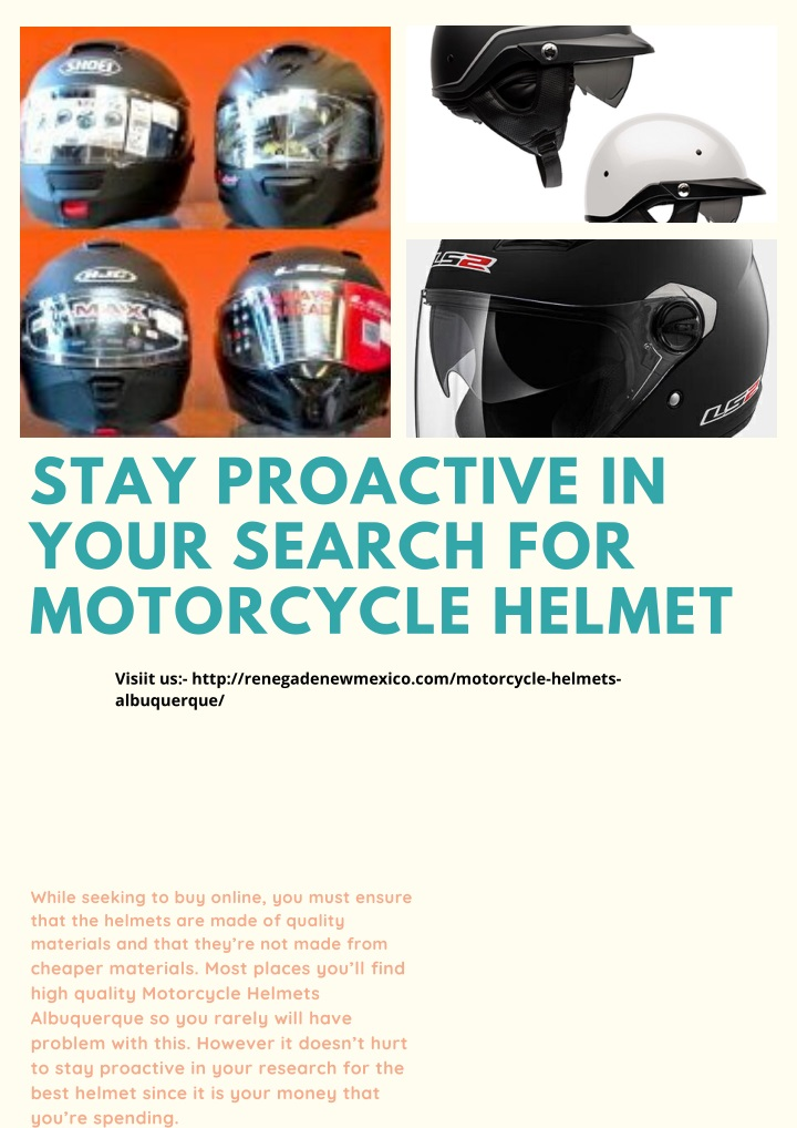 stay proactive in your search for motorcycle n.