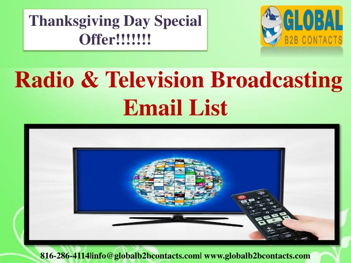 thanksgiving day special offer n.