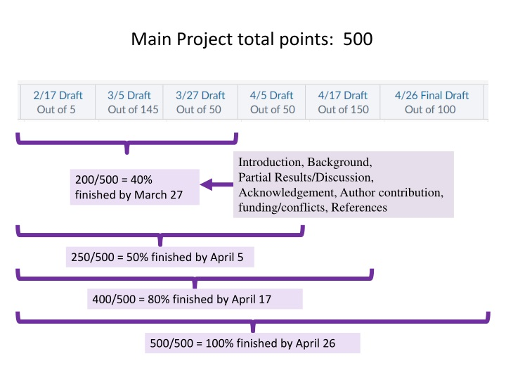 main project total points 500 n.