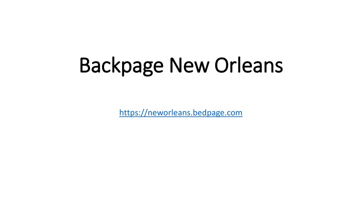 backpage backpage new orleans new orleans n.
