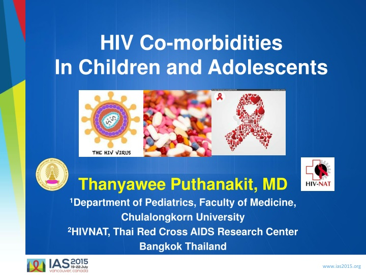 hiv co morbidities in children and adolescents n.