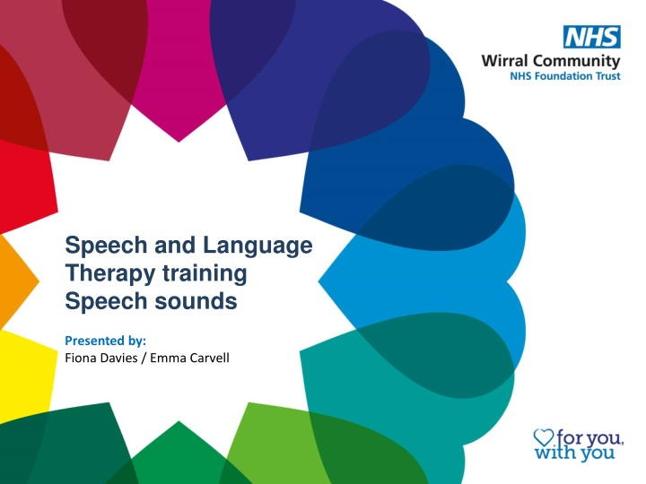 speech and language therapy training speech sounds n.
