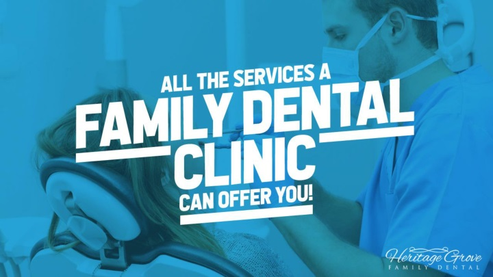 all the services a family dental clinic can offer you n.