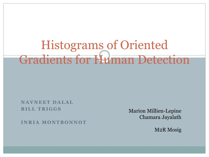 histograms of oriented gradients for human detection n.