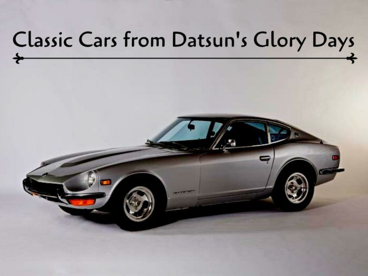 classic cars from datsun s glory days n.