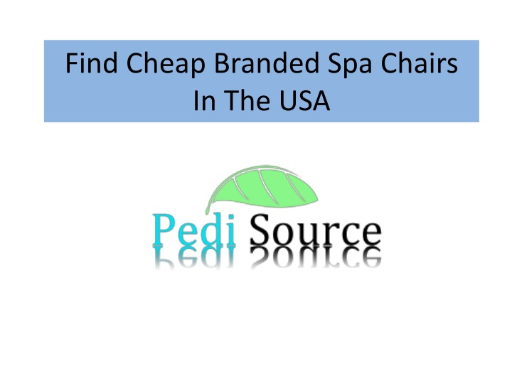 find cheap branded spa chairs in the usa n.