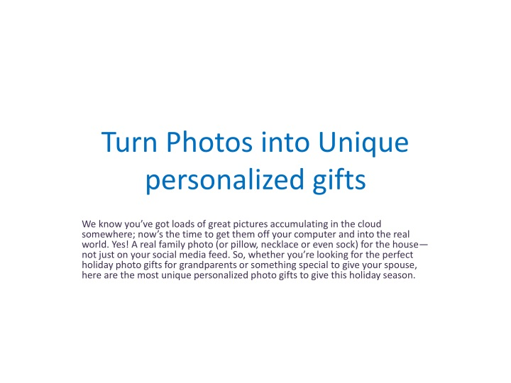 turn photos into unique personalized gifts n.