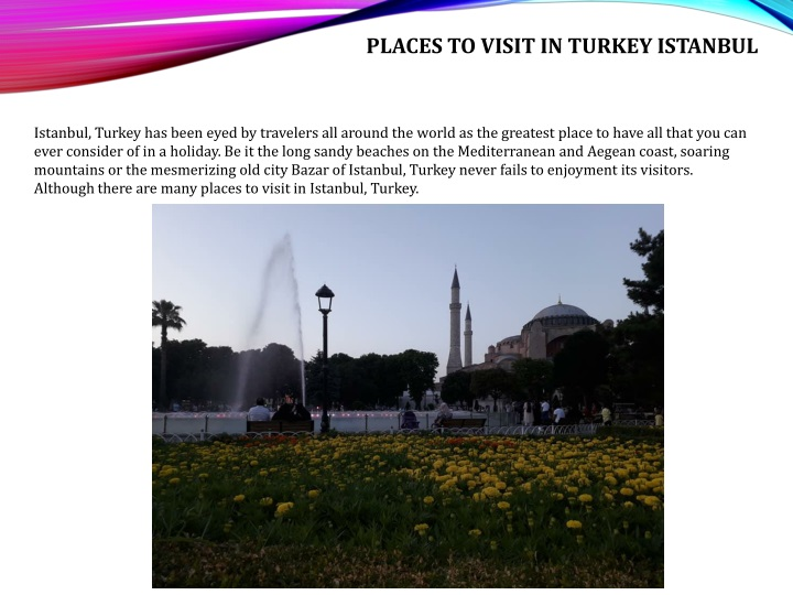 places to visit in turkey istanbul n.