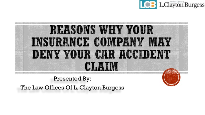 reasons why your insurance company may deny your car accident claim n.