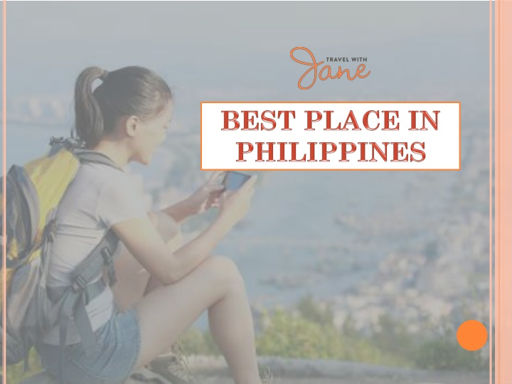 best place in philippines n.