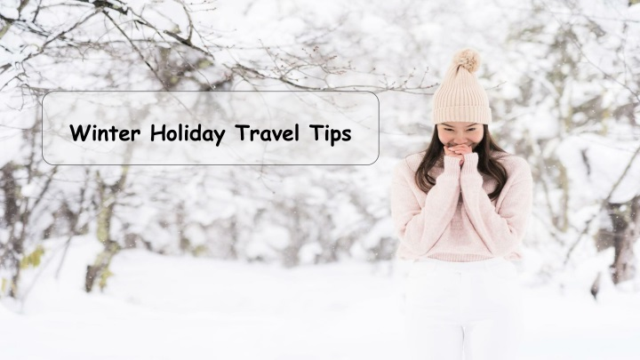 winter holiday travel tips n.