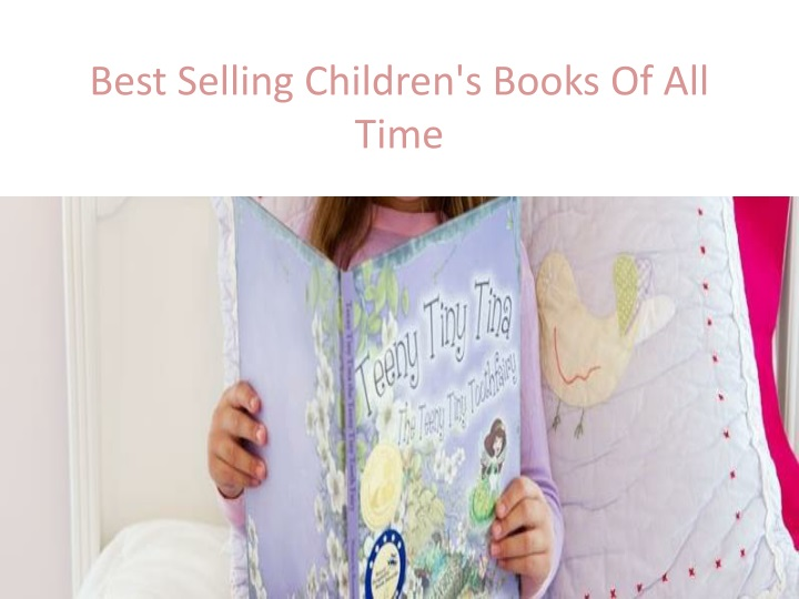 best selling children s books of all time n.