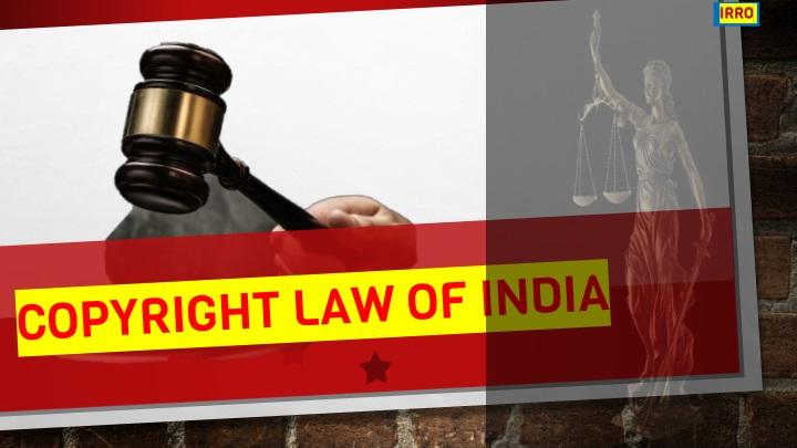 copyright law of india n.