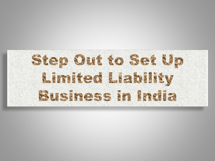 step out to set up limited liability business n.