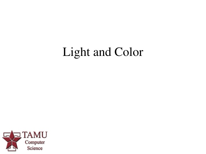 light and color n.