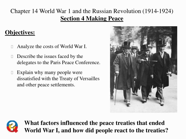 chapter 14 world war 1 and the russian revolution n.