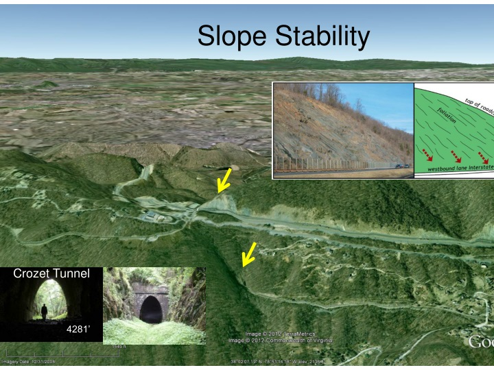 slope stability n.