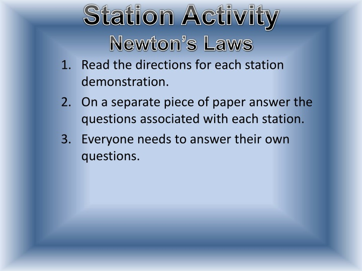 station activity newton s laws n.