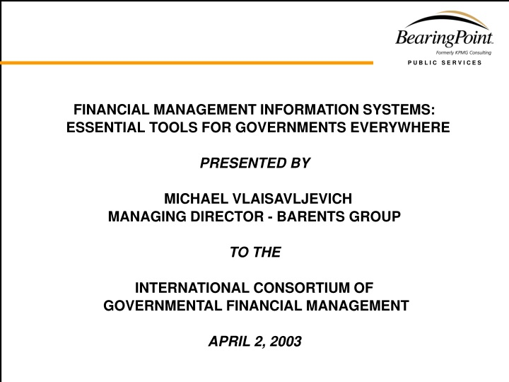 financial management information systems n.
