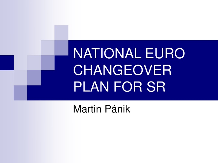national euro changeover plan for sr n.