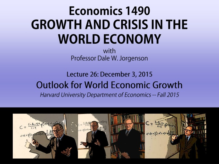 economics 1490 growth and crisis in the world n.