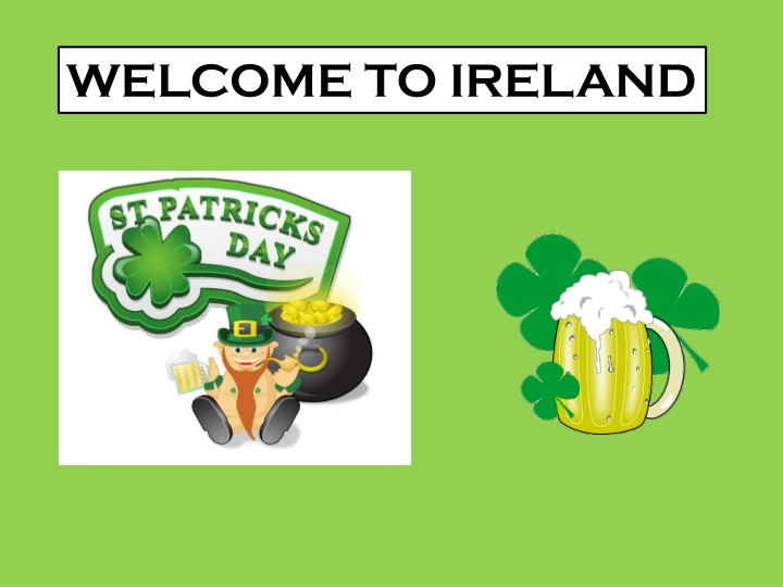 welcome to ireland n.