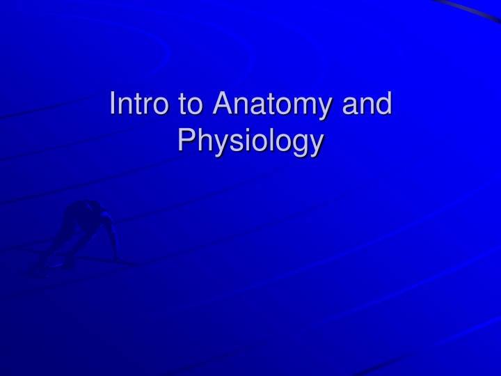 intro to anatomy and physiology n.