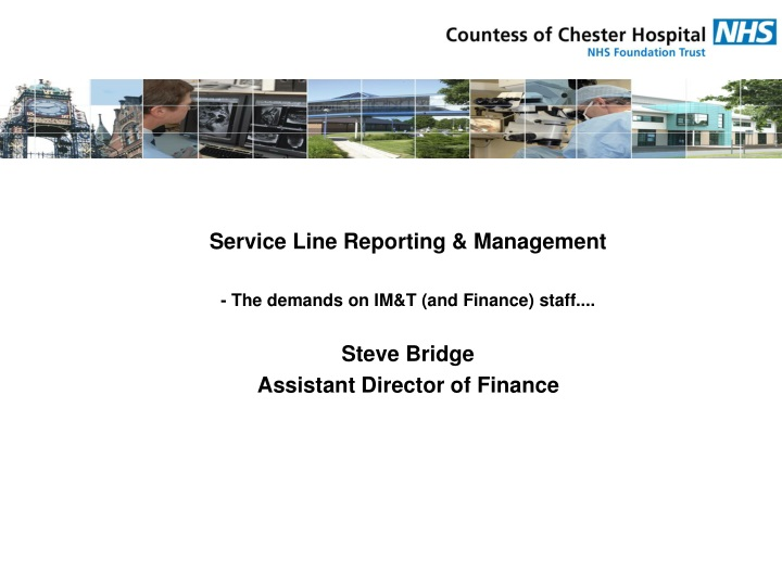 service line reporting management the demands n.
