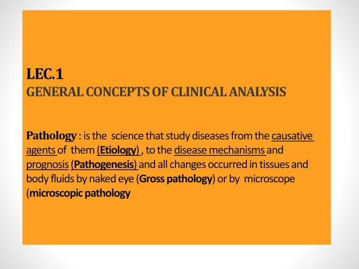 lec 1 general concepts of clinical analysis n.