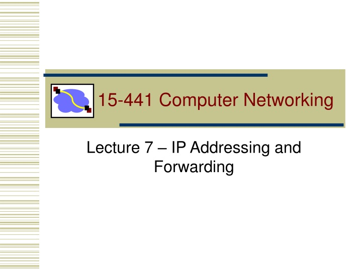 15 441 computer networking n.