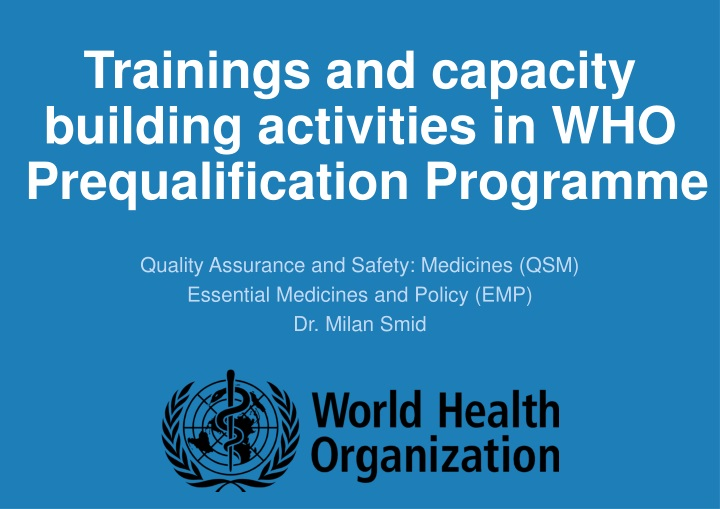trainings and capacity building activities n.
