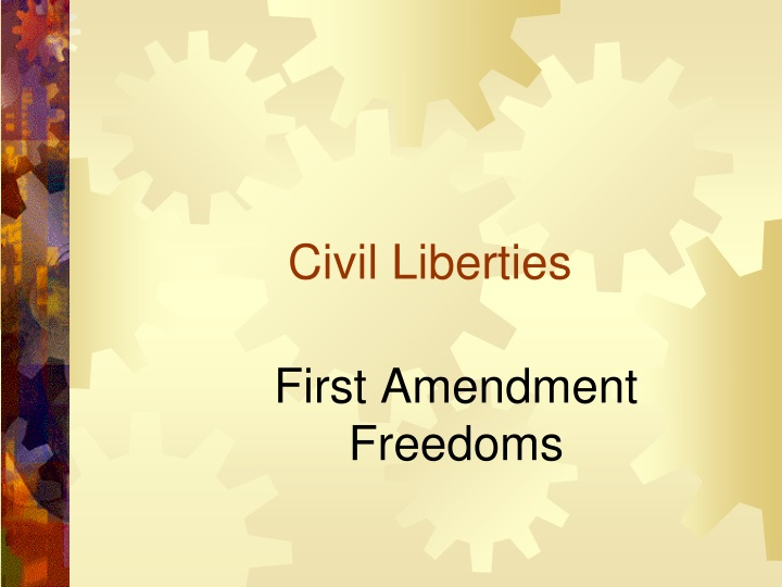 civil liberties n.