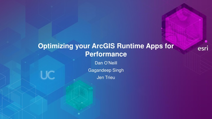 optimizing your arcgis runtime apps for performance n.